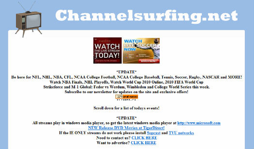 USA : l'admin de ChannelSurfing plaide non coupable