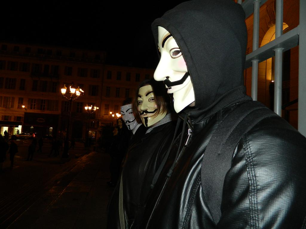 Tunisie : Les Anonymous interceptent 2725 emails appartenant au  gouvernement Tunisien Ennahdha