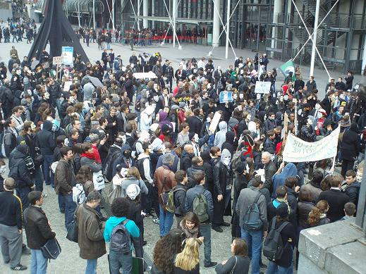 PARIS 10 mars 2012 : Manifestation Stop ACTA  Anonymact – Anonymous