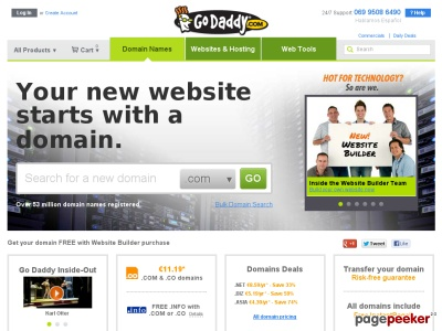Un anonymous met GoDaddy HS et entraine le blocage de plus de 50 millions de sites !