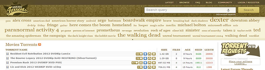 KickassTorrents : KAT.PH devient KA.TT et contourne la censure!